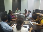 DTI MEETING WITH USEC. PASCUA ON AVIAN FLU IN PAMPANGA