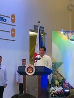 SPECIAL RIBBON-CUTTING CEREMONY FOR AGRILINK BY PRES. DUTERTE